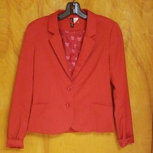 H & M size 8 Red Blazer